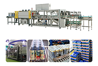 YCBS35ZT Tray + Shrink Film Packing Machine